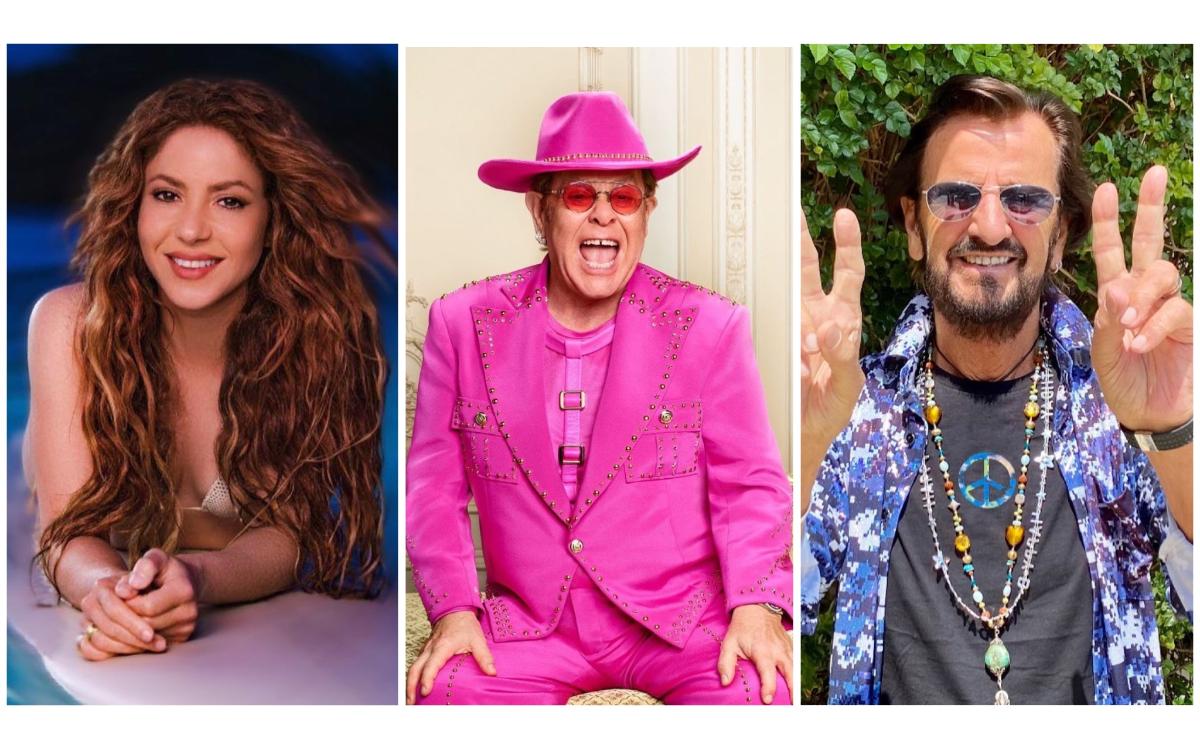 Shakira, Elton John y Ringo Starr, entre los músicos famosos de los Pandora Papers